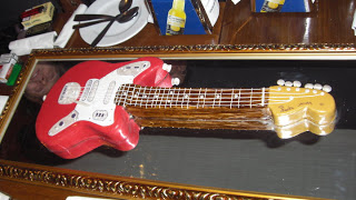 FENDER JAGUAR guitarra cake!
