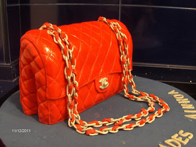 BOLSO CHANEL 2.55 ROJO…TARTA DE CHOCOLATE!!!