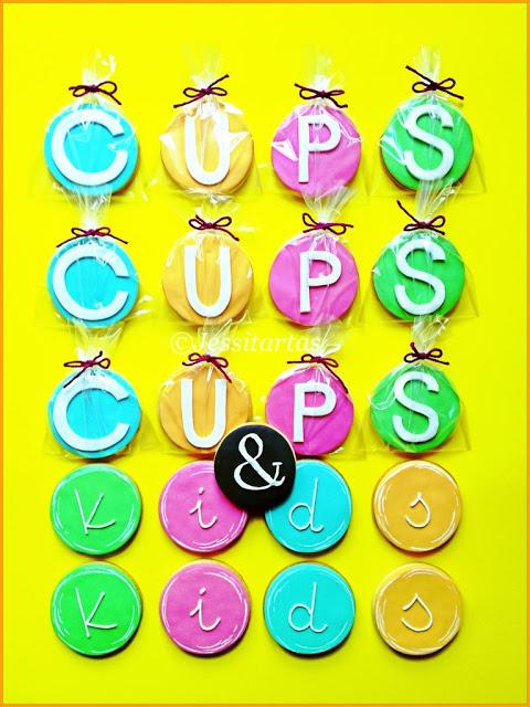 GALLETAS PARA MAMÁS, PAPÁS Y PEQUES!!! Estos días se inaugura CUPS&KIDS (Calle Alameda, Madrid. Tras Caixa Forum)