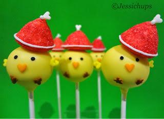JESSICHUPS POLLITOS NAVIDEÑOS // Christmas Chick Jessichups