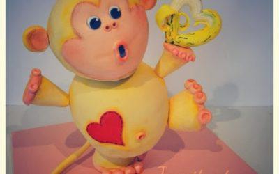 Una Jessitarta de lo más MONA! Little Monkey Cake!