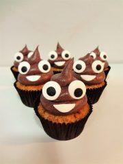 Cupcakes emoticono Cacota Soriente !!!