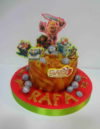 TARTA CLASH OF CLANS