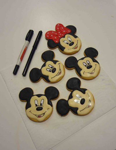 GALLETAS MICKEY Y MINNIE MOUSE