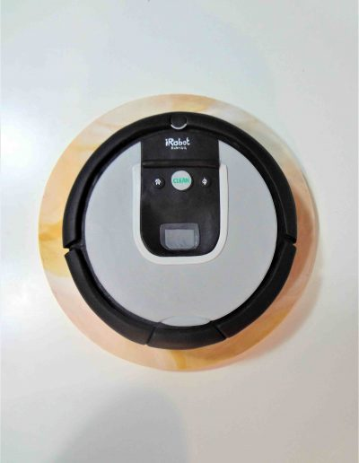 Tarta 3D Aspiradora Roomba 3D