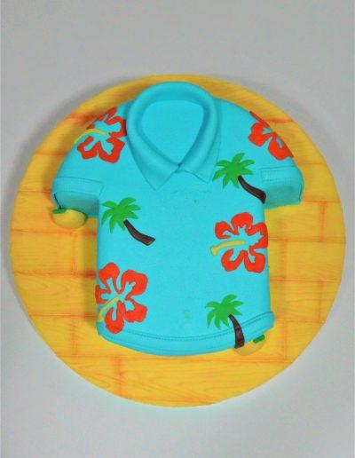Camisa hawaiana 2D