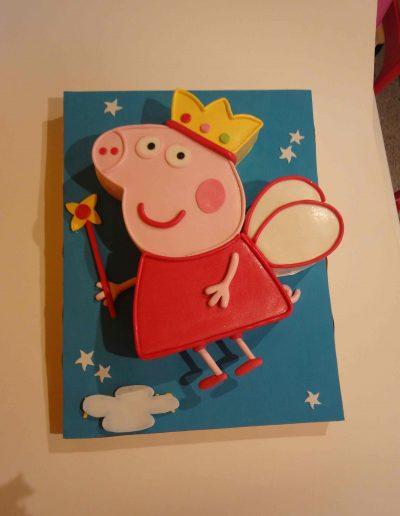 TARTA PEPPA PIG HADA