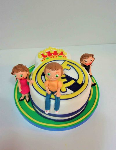 Tarta Escudo Real Madrid