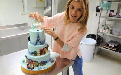 La tarta de boda de sus sueños