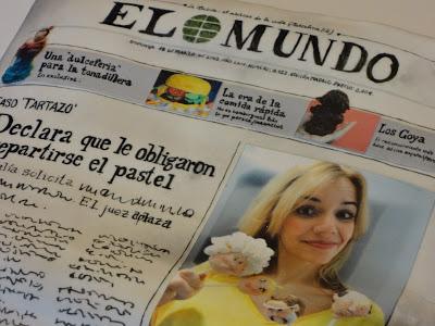 MAKING OF 'JESSITARTA' PERIÓDICO 'EL MUNDO'