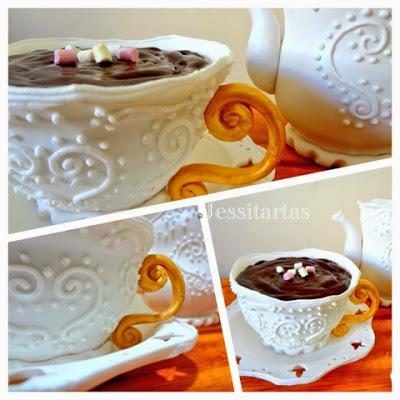 Jessitarta TE APETECE UNA TAZA DE CHOCOLATE?? // A cup of chocolate??