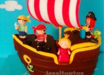 JESSITARTA BARCO PIRATA ¡Al abordaje! // JESSITARTA PIRATE SHIP!!!