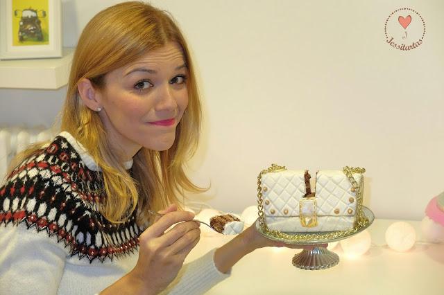 Y la Jessitarta esss… ¡¡¡EL BOLSO!!! // And the cake is… ¡THE HANDBAG!