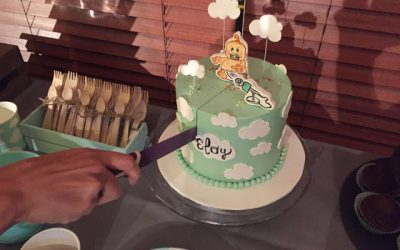 Baby Shower Color Mint con Sabor a Carrot Cake!!!