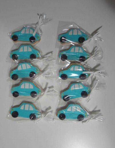 Galletas Coches Azules