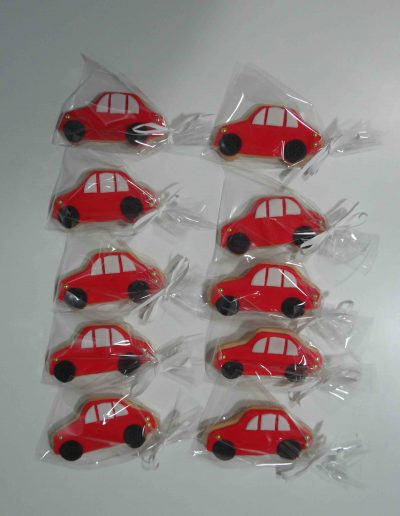 Galletas Coches Rojos