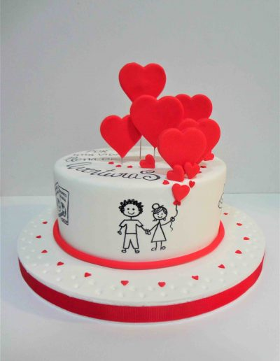 Mini Tarta Amor