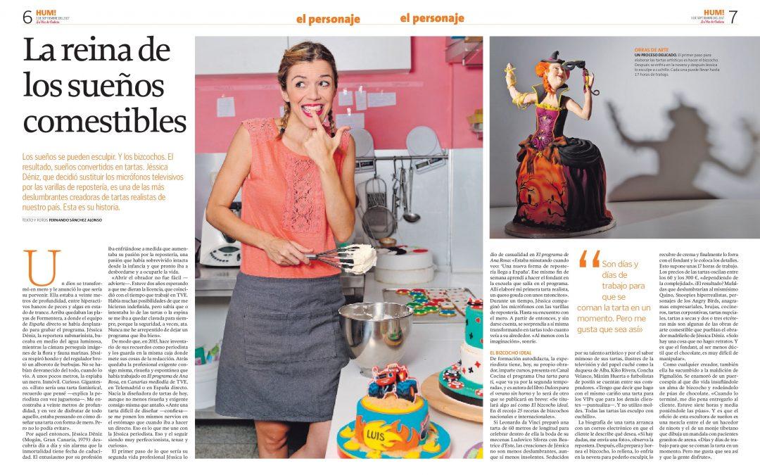 La historia de Jessitartas en La Voz de Galicia